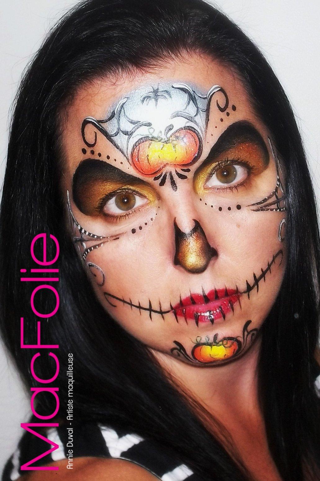 Macfolie for Comidee maquillage halloween adulte