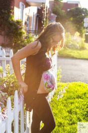 maquilleuse / bedaine de maternité